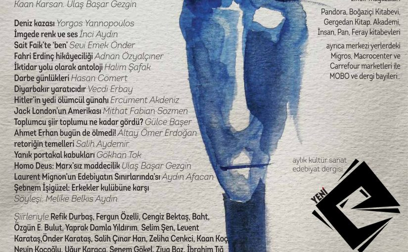 "Translation: ""Yeni e"" literature magazine"